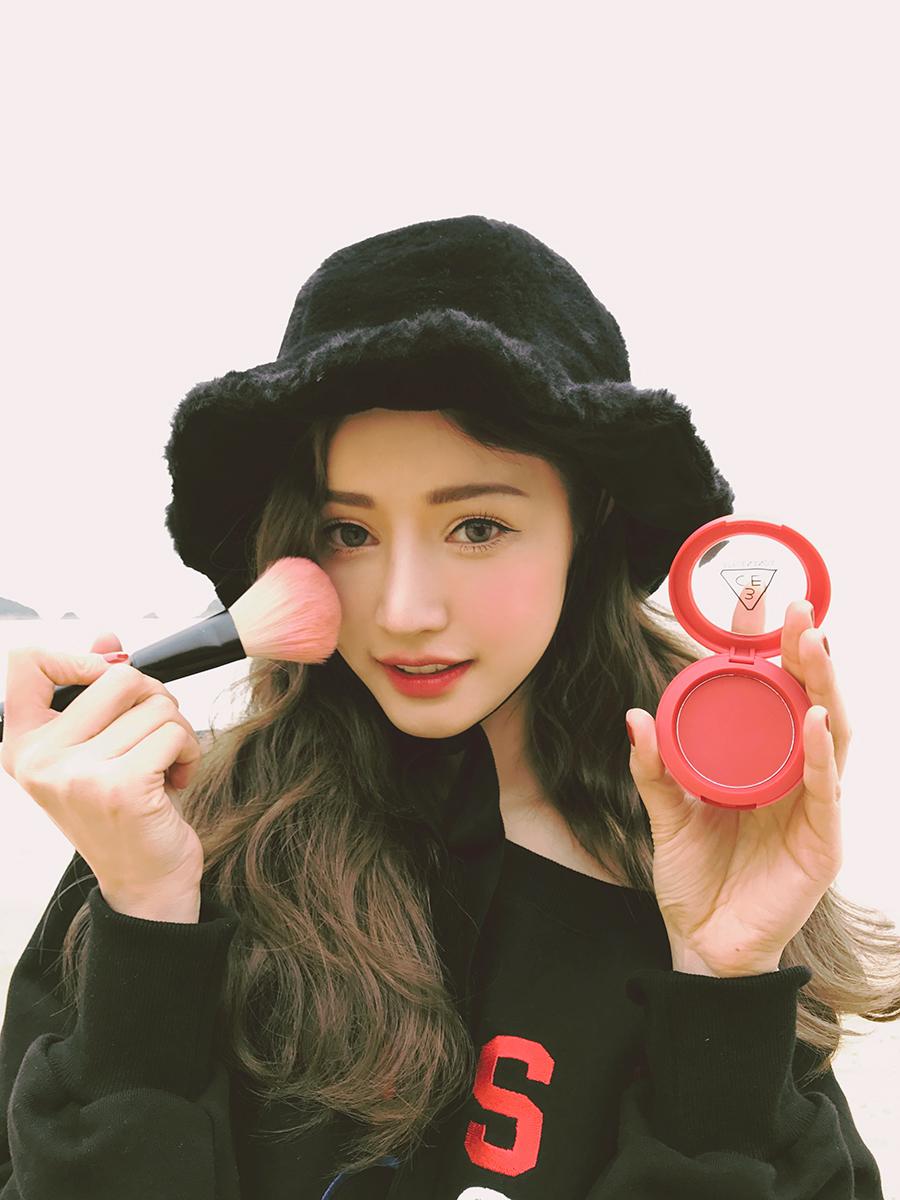 Kết quả hình ảnh cho Phấn má 3CE Red Recipe Face Blush