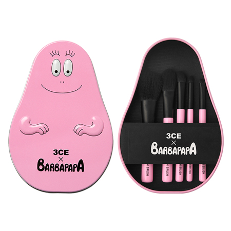 3CE BARBAPAPA BRUSH KIT