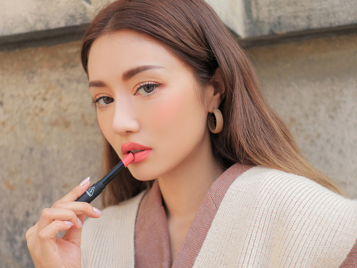 3CE SLIM VELVET LIP COLOR #VANILLA PINK