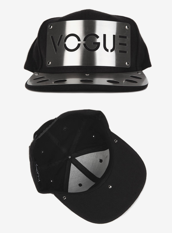 VOGUE METAL BRIM SNAPBACK