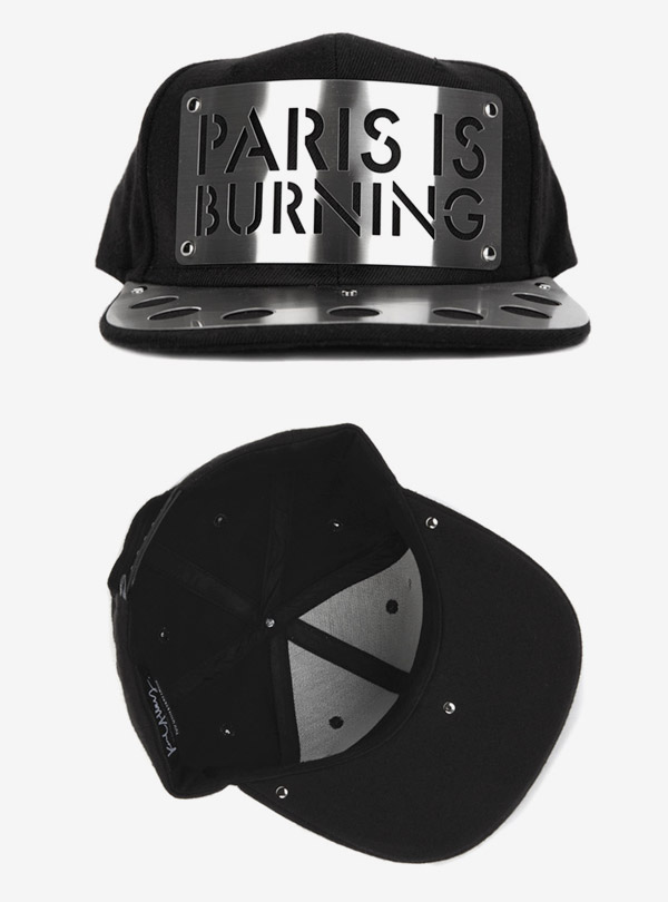 PARIS METAL BRIM SNAPBACK